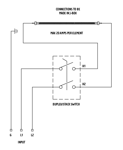 Simple On/Off Switch Diagram