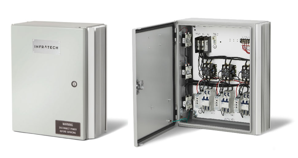 Universal Control Relay Panel Views