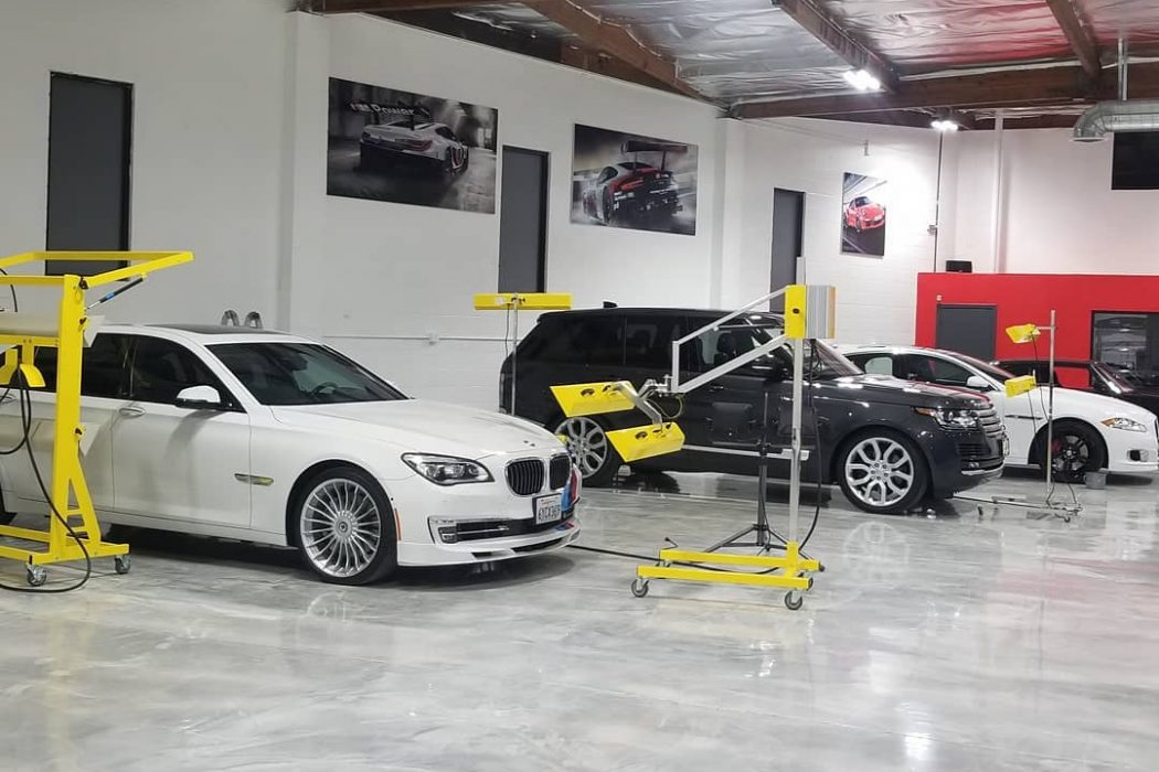 A full set of Infratech systems curing ceramic paint protection perfectly & efficiently for these luxury cars.