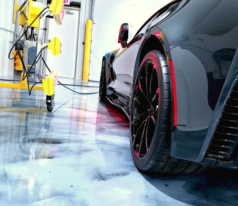Protect your investment with paint protection cured with Infratech systems.