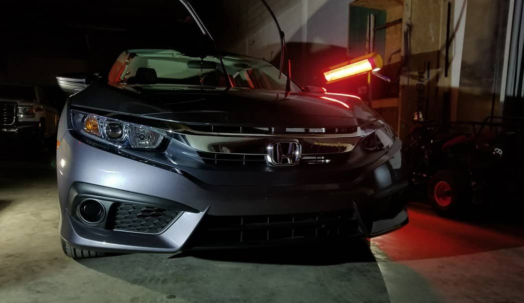 This Honda looks showroom-fresh with help from Infratech systems.