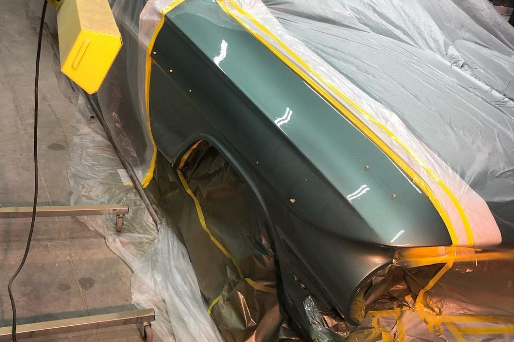 Our medium wave system Model SRU-1615 works to cure this classic 1961 Chevrolet convertible.