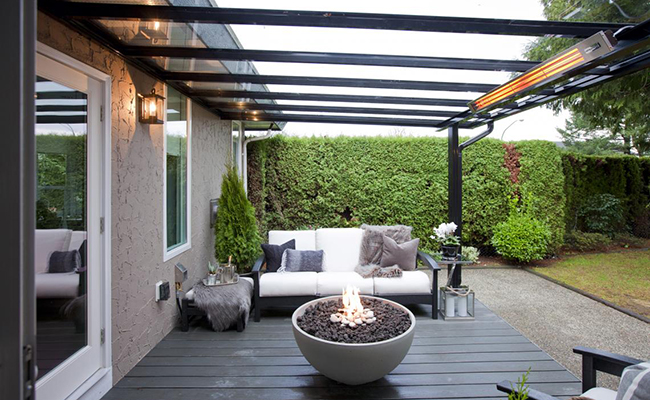 Exceptional Top Designers Like Jillian Harris Choose Infratech Outdoor Heaters For  Residential And Commercial Projects Because The Wide Range Of Styles, ...